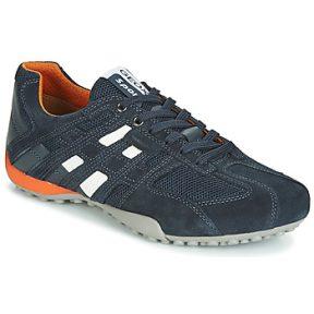Xαμηλά Sneakers Geox UOMO SNAKE ΣΤΕΛΕΧΟΣ: Δέρμα και συνθετικό & ΕΠΕΝΔΥΣΗ: Συνθετικό ύφασμα & ΕΣ. ΣΟΛΑ: & ΕΞ. ΣΟΛΑ: Καουτσούκ