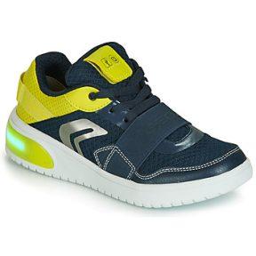 Xαμηλά Sneakers Geox J XLED BOY ΣΤΕΛΕΧΟΣ: Συνθετικό και ύφασμα & ΕΠΕΝΔΥΣΗ: Ύφασμα & ΕΣ. ΣΟΛΑ: & ΕΞ. ΣΟΛΑ: Καουτσούκ