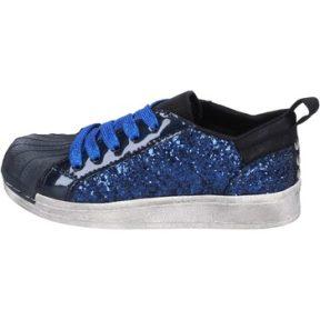 Xαμηλά Sneakers Holalà sneakers blu glitter vernice BT330
