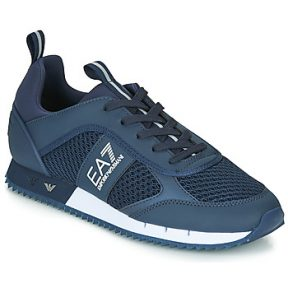 Xαμηλά Sneakers Emporio Armani EA7 BLACK WHITE LACES U ΣΤΕΛΕΧΟΣ: Ύφασμα & ΕΠΕΝΔΥΣΗ: Ύφασμα & ΕΣ. ΣΟΛΑ: Ύφασμα & ΕΞ. ΣΟΛΑ: Καουτσούκ