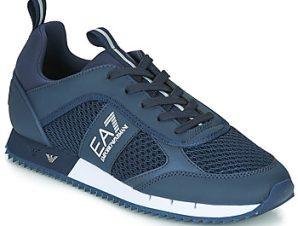 Xαμηλά Sneakers Emporio Armani EA7 BLACK WHITE LACES U