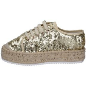 Xαμηλά Sneakers Francescomilano sneakers platino tessuto paillettes BS77