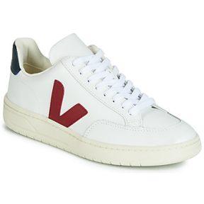 Xαμηλά Sneakers Veja V-12 LEATHER ΣΤΕΛΕΧΟΣ: Δέρμα & ΕΠΕΝΔΥΣΗ: Ύφασμα & ΕΣ. ΣΟΛΑ: Συνθετικό & ΕΞ. ΣΟΛΑ: Καουτσούκ
