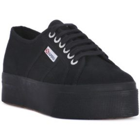 Xαμηλά Sneakers Superga COTU FULL BLACK UP AND DOWN