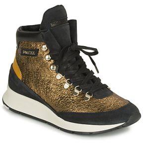 Ψηλά Sneakers Philippe Model MONTECARLO ΣΤΕΛΕΧΟΣ: Δέρμα / ύφασμα & ΕΠΕΝΔΥΣΗ: Ύφασμα & ΕΣ. ΣΟΛΑ: Δέρμα & ΕΞ. ΣΟΛΑ: Καουτσούκ