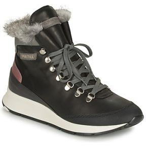 Ψηλά Sneakers Philippe Model MONTECARLO ΣΤΕΛΕΧΟΣ: Δέρμα & ΕΠΕΝΔΥΣΗ: Πραγματική γούνα & ΕΣ. ΣΟΛΑ: Δέρμα & ΕΞ. ΣΟΛΑ: Καουτσούκ