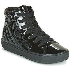 Ψηλά Sneakers Geox J KALISPERA GIRL ΣΤΕΛΕΧΟΣ: Συνθετικό και ύφασμα & ΕΠΕΝΔΥΣΗ: Ύφασμα & ΕΣ. ΣΟΛΑ: Δέρμα & ΕΞ. ΣΟΛΑ: Καουτσούκ