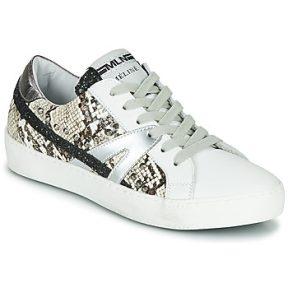 Xαμηλά Sneakers Meline PANNA ΣΤΕΛΕΧΟΣ: Δέρμα και συνθετικό & ΕΠΕΝΔΥΣΗ: Δέρμα / ύφασμα & ΕΣ. ΣΟΛΑ: Δέρμα & ΕΞ. ΣΟΛΑ: Καουτσούκ