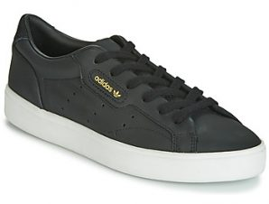 Xαμηλά Sneakers adidas SLEEK W ΣΤΕΛΕΧΟΣ: Δέρμα & ΕΠΕΝΔΥΣΗ: Συνθετικό & ΕΣ. ΣΟΛΑ: Ύφασμα & ΕΞ. ΣΟΛΑ: Καουτσούκ