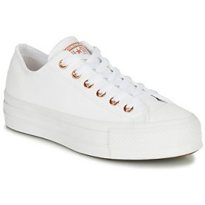 Xαμηλά Sneakers Converse CHUCK TAYLOR LIFT CLEAN CRAF LEATHER ΣΤΕΛΕΧΟΣ: Ύφασμα & ΕΠΕΝΔΥΣΗ: Ύφασμα & ΕΣ. ΣΟΛΑ: Ύφασμα & ΕΞ. ΣΟΛΑ: Καουτσούκ