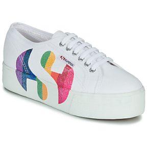 Xαμηλά Sneakers Superga 2790-COTWPRINTEDLOGOGLITTER ΣΤΕΛΕΧΟΣ: Ύφασμα & ΕΠΕΝΔΥΣΗ: Ύφασμα & ΕΣ. ΣΟΛΑ: Ύφασμα & ΕΞ. ΣΟΛΑ: Καουτσούκ