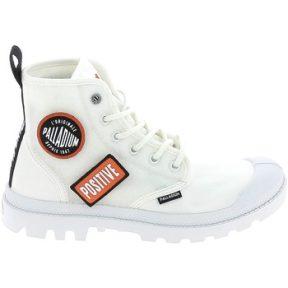 Ψηλά Sneakers Palladium Manufacture Pampa HI Change Blanc