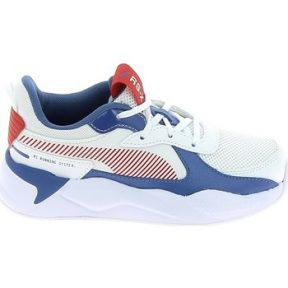 Xαμηλά Sneakers Puma RS-X Mu C Blanc Bleu Rouge [COMPOSITION_COMPLETE]