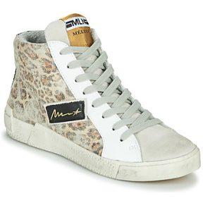 Ψηλά Sneakers Meline NK5050 ΣΤΕΛΕΧΟΣ: Δέρμα / ύφασμα & ΕΠΕΝΔΥΣΗ: Δέρμα / ύφασμα & ΕΣ. ΣΟΛΑ: Δέρμα & ΕΞ. ΣΟΛΑ: Καουτσούκ