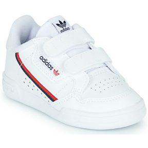 Xαμηλά Sneakers adidas CONTINENTAL 80 CF I ΣΤΕΛΕΧΟΣ: Δέρμα και συνθετικό & ΕΠΕΝΔΥΣΗ: Ύφασμα & ΕΣ. ΣΟΛΑ: Ύφασμα & ΕΞ. ΣΟΛΑ: Καουτσούκ