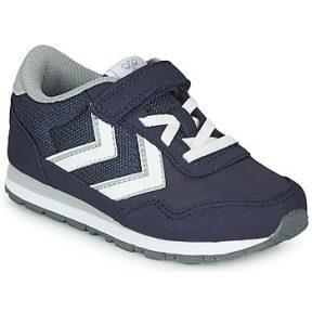 Xαμηλά Sneakers Hummel REFLEX JR ΣΤΕΛΕΧΟΣ: Δέρμα / ύφασμα & ΕΠΕΝΔΥΣΗ: Ύφασμα & ΕΣ. ΣΟΛΑ: Ύφασμα & ΕΞ. ΣΟΛΑ: Καουτσούκ