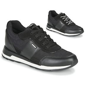 Xαμηλά Sneakers Geox NEW ANEKO B ABX ΣΤΕΛΕΧΟΣ: Δέρμα / ύφασμα & ΕΠΕΝΔΥΣΗ: Ύφασμα & ΕΣ. ΣΟΛΑ: Συνθετικό & ΕΞ. ΣΟΛΑ: Καουτσούκ