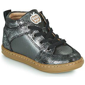 Ψηλά Sneakers Shoo Pom BOUBA GANG ΣΤΕΛΕΧΟΣ: Δέρμα / ύφασμα & ΕΠΕΝΔΥΣΗ: Δέρμα & ΕΣ. ΣΟΛΑ: Δέρμα & ΕΞ. ΣΟΛΑ: Καουτσούκ