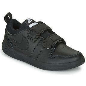 Xαμηλά Sneakers Nike PICO 5 PS ΣΤΕΛΕΧΟΣ: Δέρμα & ΕΠΕΝΔΥΣΗ: Ύφασμα & ΕΣ. ΣΟΛΑ: Ύφασμα & ΕΞ. ΣΟΛΑ: Καουτσούκ