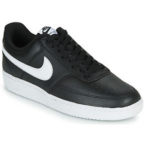 Xαμηλά Sneakers Nike COURT VISION LOW ΣΤΕΛΕΧΟΣ: Δέρμα & ΕΠΕΝΔΥΣΗ: Ύφασμα & ΕΣ. ΣΟΛΑ: Ύφασμα & ΕΞ. ΣΟΛΑ: Καουτσούκ