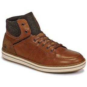 Ψηλά Sneakers Casual Attitude NOURDON ΣΤΕΛΕΧΟΣ: Δέρμα & ΕΠΕΝΔΥΣΗ: Ύφασμα & ΕΣ. ΣΟΛΑ: Δέρμα & ΕΞ. ΣΟΛΑ: Καουτσούκ