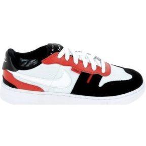 Xαμηλά Sneakers Nike Squash Type Jr Blanc Noir Rouge C14449-101