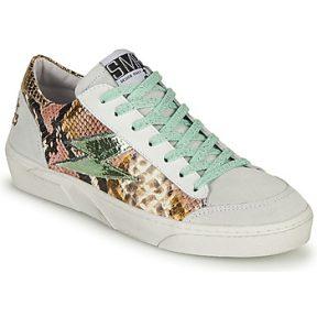 Xαμηλά Sneakers Semerdjian ELISE ΣΤΕΛΕΧΟΣ: Δέρμα & ΕΠΕΝΔΥΣΗ: Δέρμα & ΕΣ. ΣΟΛΑ: Δέρμα & ΕΞ. ΣΟΛΑ: Καουτσούκ