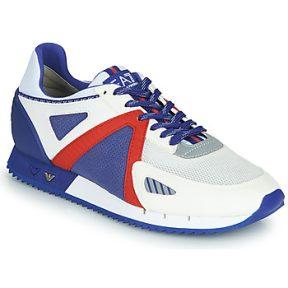 Xαμηλά Sneakers Emporio Armani EA7 SAPONI ΣΤΕΛΕΧΟΣ: Ύφασμα & ΕΠΕΝΔΥΣΗ: Ύφασμα & ΕΣ. ΣΟΛΑ: Δέρμα / ύφασμα & ΕΞ. ΣΟΛΑ: Δέρμα