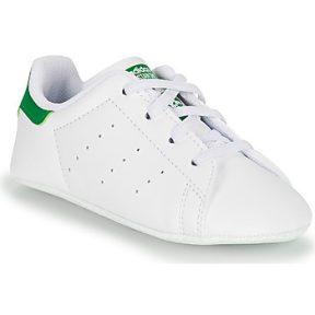 Xαμηλά Sneakers adidas STAN SMITH CRIB SUSTAINABLE ΣΤΕΛΕΧΟΣ: Συνθετικό & ΕΠΕΝΔΥΣΗ: Ύφασμα & ΕΣ. ΣΟΛΑ: Συνθετικό και ύφασμα & ΕΞ. ΣΟΛΑ: Καουτσούκ