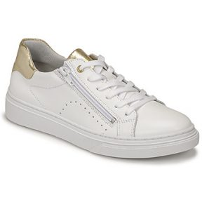 Xαμηλά Sneakers Bullboxer AOP000E5L-WHPN ΣΤΕΛΕΧΟΣ: Δέρμα