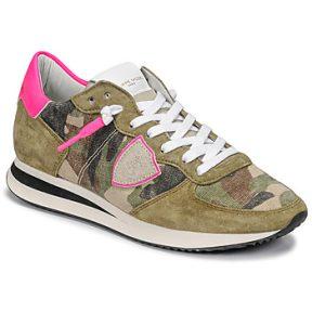 Xαμηλά Sneakers Philippe Model TROPEZ X ΣΤΕΛΕΧΟΣ: Δέρμα / ύφασμα & ΕΠΕΝΔΥΣΗ: Ύφασμα & ΕΣ. ΣΟΛΑ: Καουτσούκ & ΕΞ. ΣΟΛΑ: Καουτσούκ