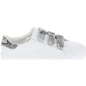 Xαμηλά Sneakers No Name Arcade Straps Nappa Kobra Blanc