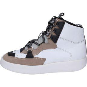 Ψηλά Sneakers My Grey Mer Sneakers Pelle