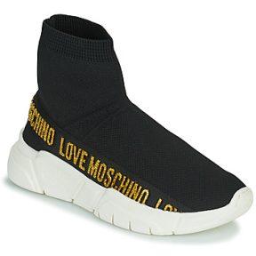 Ψηλά Sneakers Love Moschino JA15633G0D ΣΤΕΛΕΧΟΣ: Συνθετικό και ύφασμα & ΕΠΕΝΔΥΣΗ: Συνθετικό και ύφασμα & ΕΣ. ΣΟΛΑ: Ύφασμα & ΕΞ. ΣΟΛΑ: Συνθετικό