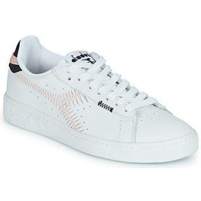 Xαμηλά Sneakers Diadora GAME L LOW ZIG ZAG WN ΣΤΕΛΕΧΟΣ: Δέρμα & ΕΠΕΝΔΥΣΗ: Ύφασμα & ΕΣ. ΣΟΛΑ: Ύφασμα & ΕΞ. ΣΟΛΑ: Καουτσούκ
