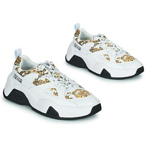 Xαμηλά Sneakers Versace Jeans Couture FELINA ΣΤΕΛΕΧΟΣ: Δέρμα / ύφασμα & ΕΠΕΝΔΥΣΗ: Συνθετικό και ύφασμα & ΕΣ. ΣΟΛΑ: Δέρμα & ΕΞ. ΣΟΛΑ: Συνθετικό