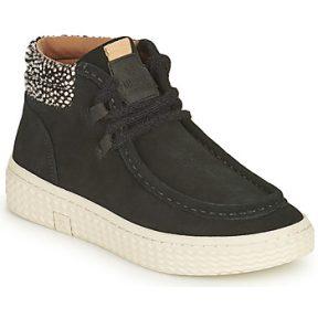 Ψηλά Sneakers Palladium Manufacture TEMPO 10 SUD ΣΤΕΛΕΧΟΣ: Δέρμα & ΕΠΕΝΔΥΣΗ: Ύφασμα & ΕΣ. ΣΟΛΑ: Ύφασμα & ΕΞ. ΣΟΛΑ: Καουτσούκ