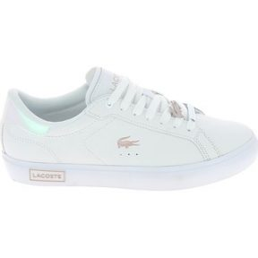 Xαμηλά Sneakers Lacoste Powercourt Blanc Rose [COMPOSITION_COMPLETE]