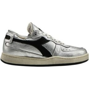 Xαμηλά Sneakers Diadora Baskets femme row cut silver used [COMPOSITION_COMPLETE]