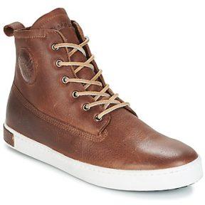 Ψηλά Sneakers Blackstone INCH WORKER ON FOXING FUR ΣΤΕΛΕΧΟΣ: Δέρμα & ΕΠΕΝΔΥΣΗ: Πραγματική γούνα & ΕΣ. ΣΟΛΑ: Δέρμα & ΕΞ. ΣΟΛΑ: Καουτσούκ