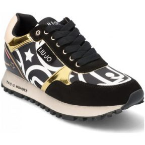 Xαμηλά Sneakers Liu Jo BF 1047 BLACK/GOLD [COMPOSITION_COMPLETE]