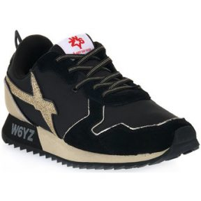 Xαμηλά Sneakers W6yz JET J BLACK GOLD [COMPOSITION_COMPLETE]