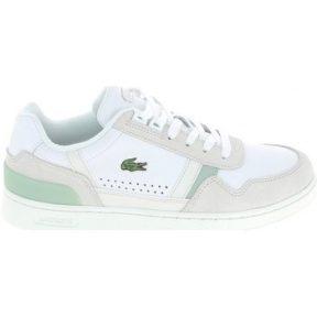 Xαμηλά Sneakers Lacoste T Clip Blanc Vert [COMPOSITION_COMPLETE]