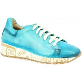 Xαμηλά Sneakers Leonardo Shoes CALM STAMPA TURCHESE [COMPOSITION_COMPLETE]