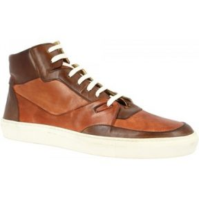 Xαμηλά Sneakers Leonardo Shoes LEOS ROMA T.M/CUOIO [COMPOSITION_COMPLETE]