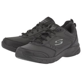 Skechers – Skechers Leather Overlay W 12154BBK – 00336