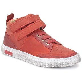 Ψηλά Sneakers Pom d'Api BACK BASKET ΣΤΕΛΕΧΟΣ: Δέρμα & ΕΠΕΝΔΥΣΗ: Δέρμα & ΕΣ. ΣΟΛΑ: Δέρμα & ΕΞ. ΣΟΛΑ: Καουτσούκ