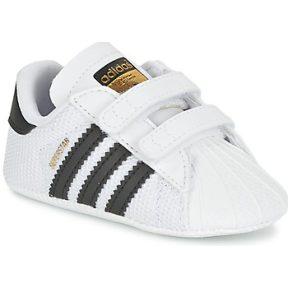 Xαμηλά Sneakers adidas SUPERSTAR CRIB ΣΤΕΛΕΧΟΣ: Συνθετικό & ΕΠΕΝΔΥΣΗ: Ύφασμα & ΕΣ. ΣΟΛΑ: Ύφασμα & ΕΞ. ΣΟΛΑ: Ύφασμα