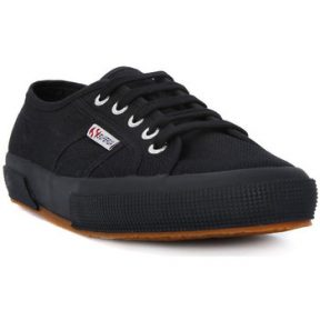 Xαμηλά Sneakers Superga COTU FULL BLACK CLASSIC