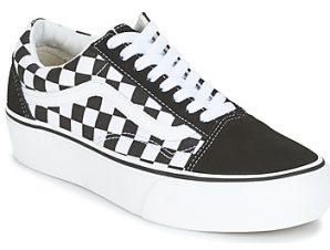 Xαμηλά Sneakers Vans UA OLD SKOOL PLATFORM ΣΤΕΛΕΧΟΣ: Δέρμα & ΕΠΕΝΔΥΣΗ: Ύφασμα & ΕΣ. ΣΟΛΑ: Δέρμα & ΕΞ. ΣΟΛΑ: Καουτσούκ